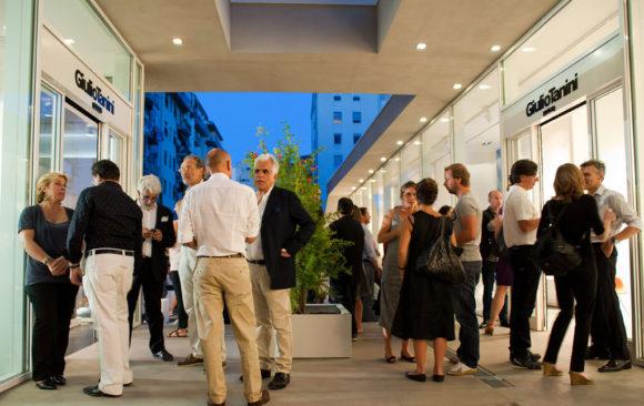 Inaugurazione showroom Giulio Tanini